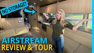 RV Tour: Brutally Honest Review of the Airstream Flying Cloud Bunk