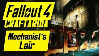 Fallout 4 Mechanist s Lair Settlement - Robots Have Needs Too - Fallout 4 Settlement Building PC
