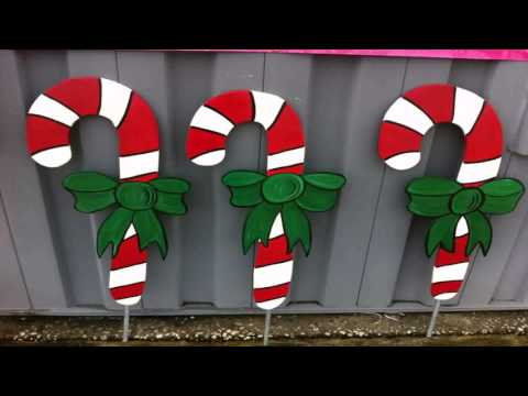 Diy Christmas Lawn Decorations Wood Gif Maker - DaddyGif.com