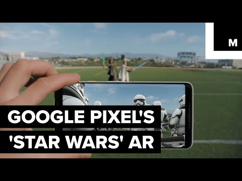 Google Launches 'Star Wars' AR Stickers on Pixel Phones