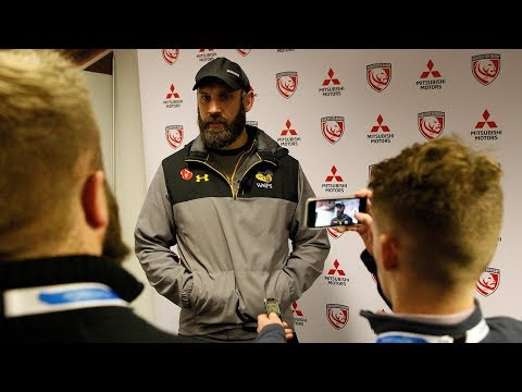 Jon Pendlebury post Gloucester Premiership Rugby Cup