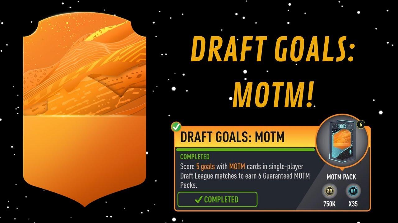 DRAFT GOALS: MOTM!- FUT 20 Pacybits Pack Opener & Draft