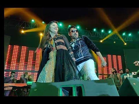 """Anjali Raghav - Gajender Phogat Live """"Bahu Kale Ki"""" OnNew Year 2019 Eve In Panipat"""