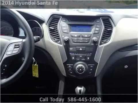 2014 Hyundai Santa Fe Used Cars Roseville Mi Youtube