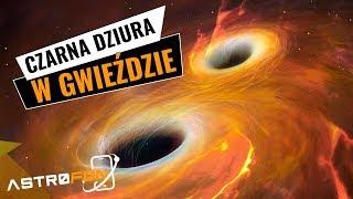 Gdyby czarna dziura zderzyła się z masywniejszą gwiazdą - AstroFon