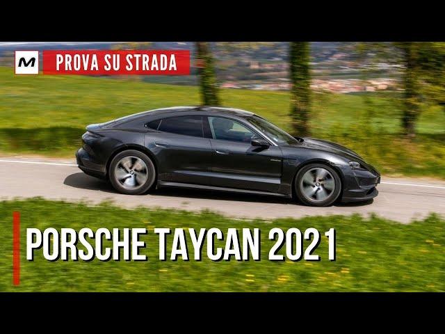 Porsche Taycan 2021 | La PROVA SU STRADA con la trazione posteriore