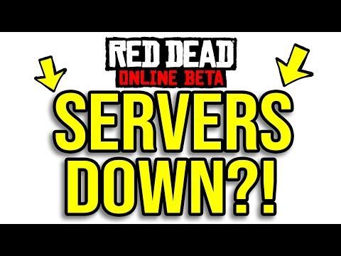 Rdr2 server status