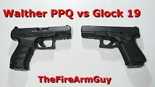 This is a comparison between the Walther PPQ versus the Glock 19. T...