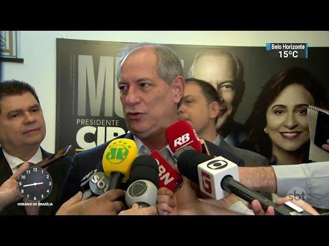 Ciro Gomes e João Goulart cumprem agenda de campanha | SBT Notícias (06/09/18)