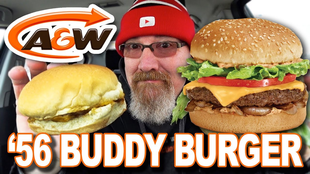 '56 BUDDY BURGER from ???? A&W PLUS NEW PAPER STRAWS????