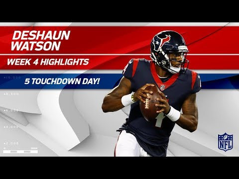 Deshaun Watson's Unreal 5 TD Day Against Tennessee | Titans vs. Texans | Wk 4 Player Highlights