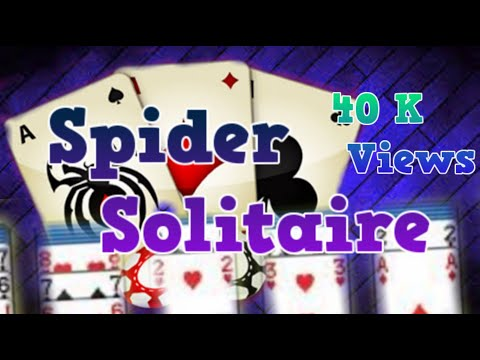 Spider Solitaire Card Game - YouTube