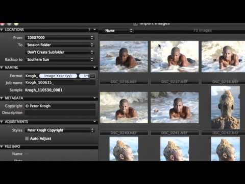 Import (1/7) | Capture One - Media Pro workflow