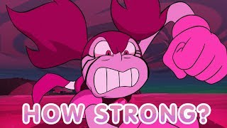How Strong is Spinel? - Steven Universe: The Movie