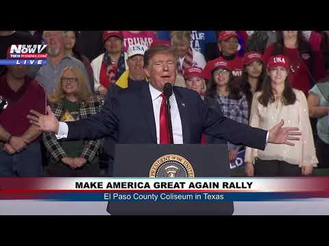 2020, O'ROURKE & MEDIA: President Trump Mentions All During El Paso MAGA Rally (FNN) Mp3
