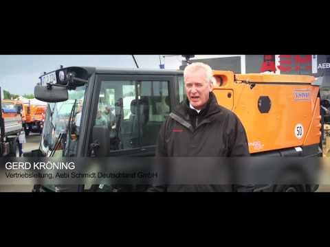 Aebi Schmidt auf der Demopark 2013 - Interview mit Charles Bonè und Gerd Kröning