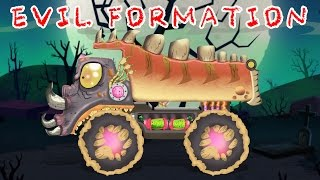 Scary Dump Truck | Formation & Uses | Kids Educational Video