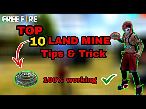 TOP 10 PRO [ LAND MINE ] Tips & Trick 100% Working