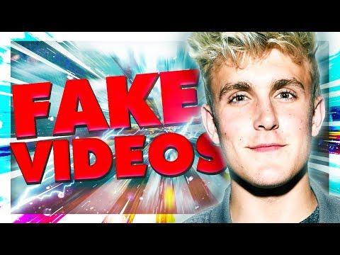 JAKE PAUL CAUGHT FAKING VIDEOS