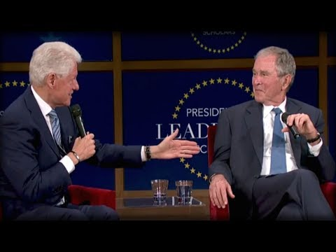 OH HELL NO: GEORGE BUSH AND BILL CLINTON JUST TEAMED UP TO DO THE UNTHINKABLE TO TRUMP