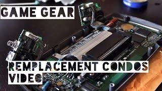 Game Gear - Remplacement condensateurs vidéo