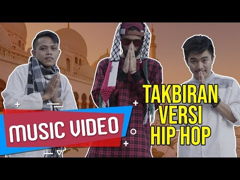 TAKBIRAN VERSI HIP HOP [ Music Video ] ECKO SHOW Feat. BOSSVHINO & AIL - Takbirap