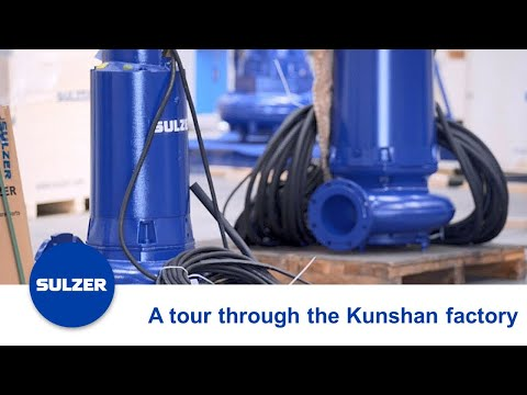 Take a Tour through Sulzer's Factory in Kunshan