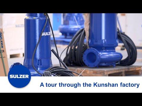 Take a Tour through Sulzer's Factory in Kunshan