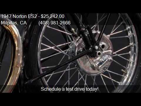 1947 Norton ES2  for sale in Milpitas, CA 95035 at NBS Auto