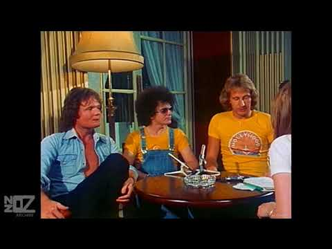 Air Supply - Interview on the ABC-TV program Flashez (1977)
