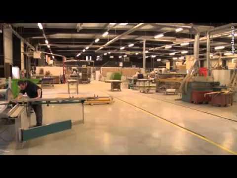 Groupe Buroc Agebois, Fabricant angevin de mobilier d'agencement sur mesure