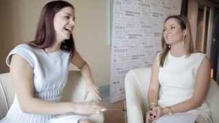 Barbara Palvin Interview at Cannes Film Festival