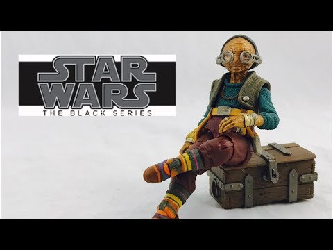 Star Wars The Black Series Maz Kanata Review