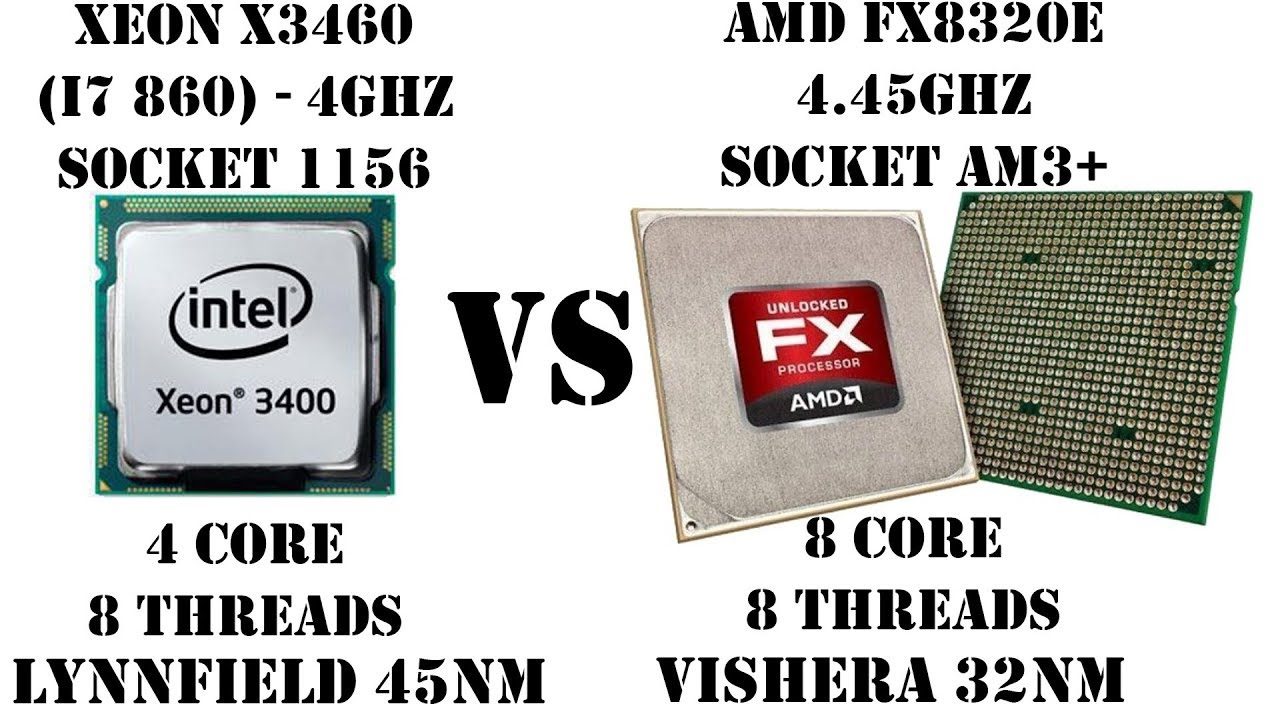 Сокет 1156 vs AM3+. Сравнение Xeon X3460