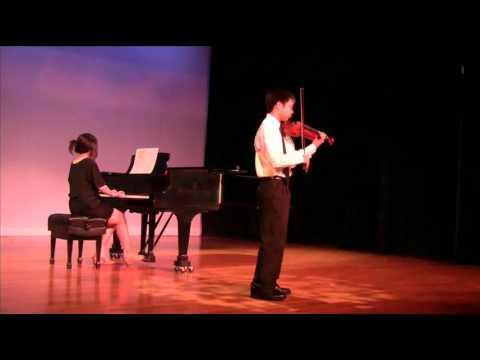 Ryan Lam Massenet Meditation Violin June 2010