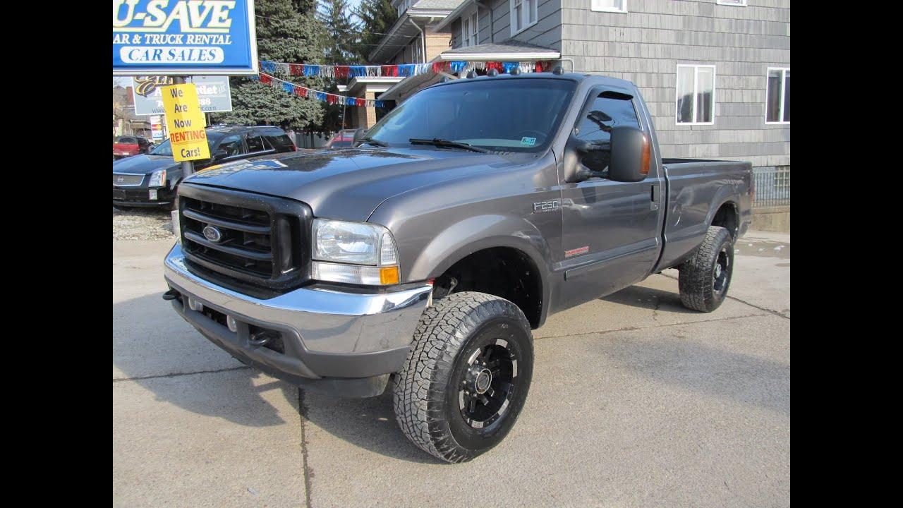 2003 Ford F 250 4x4 6 0 Liter Diesel Elite Auto Outlet Bridgeport Ohio