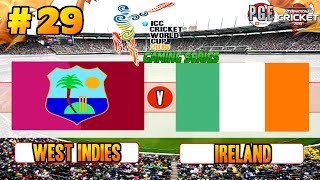 Icc Cricket World Cup 2015 (gaming Series)   Pool B Match 29 West Indies V Ireland