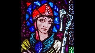 Harry Clarke stainedglass at St  Mary's RC Church, Ballinrobe, Co  Mayo, Ireland