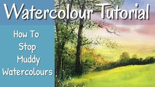 Muddy Watercolours? In Depth Watercolour Tutorial On How To Prevent This