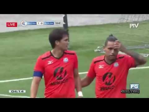 Philippines Football League: Stallion Laguna Fc vs Fc Meralco Manila Highlights 6/24/17