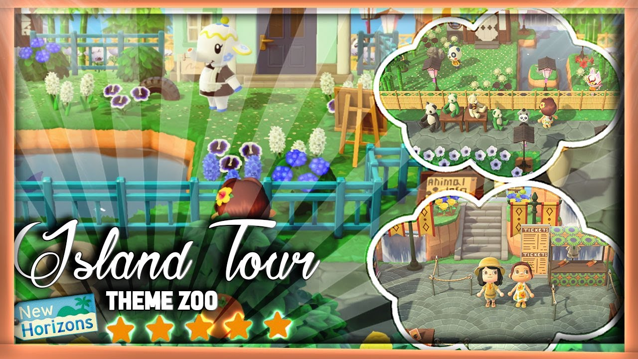 ➤Island Tour ; UN ZOO DANS ❰ANIMAL CROSSING NEW HORIZONS❱ !
