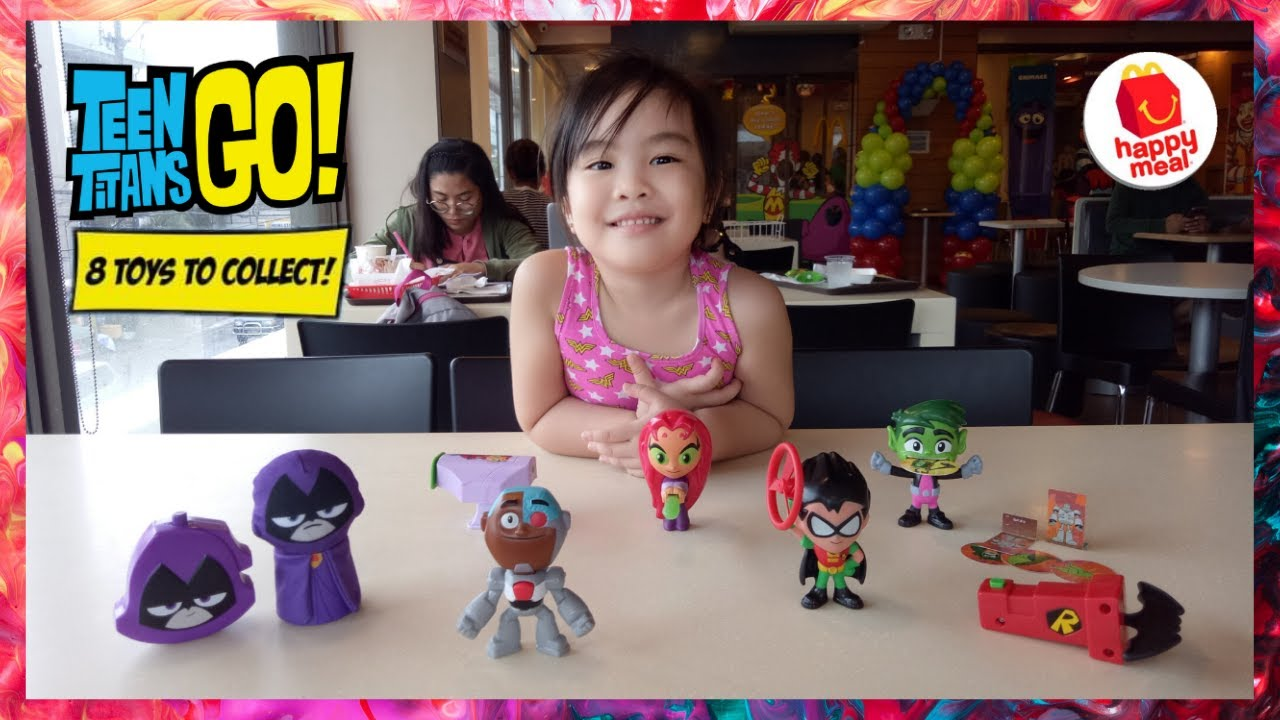 Mcdonald S Happy Meal Toys July 2019 Teen Titans Go