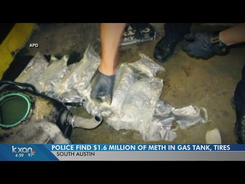 APD finds 93 pounds of meth hidden inside SUV
