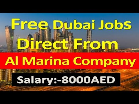 Abu Dhabi Free Jobs Direct From Al Marina Company Salary :- 8000AED