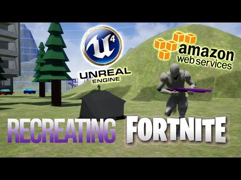 Recreating Fortnite in 2 Months - Using Unreal Engine and Amazon GameLift
