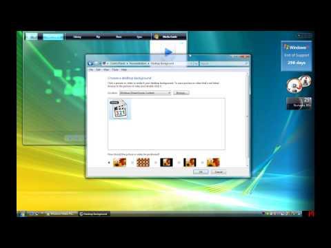 Windows Vista Easter Egg:Windows Media Player transparent visualization