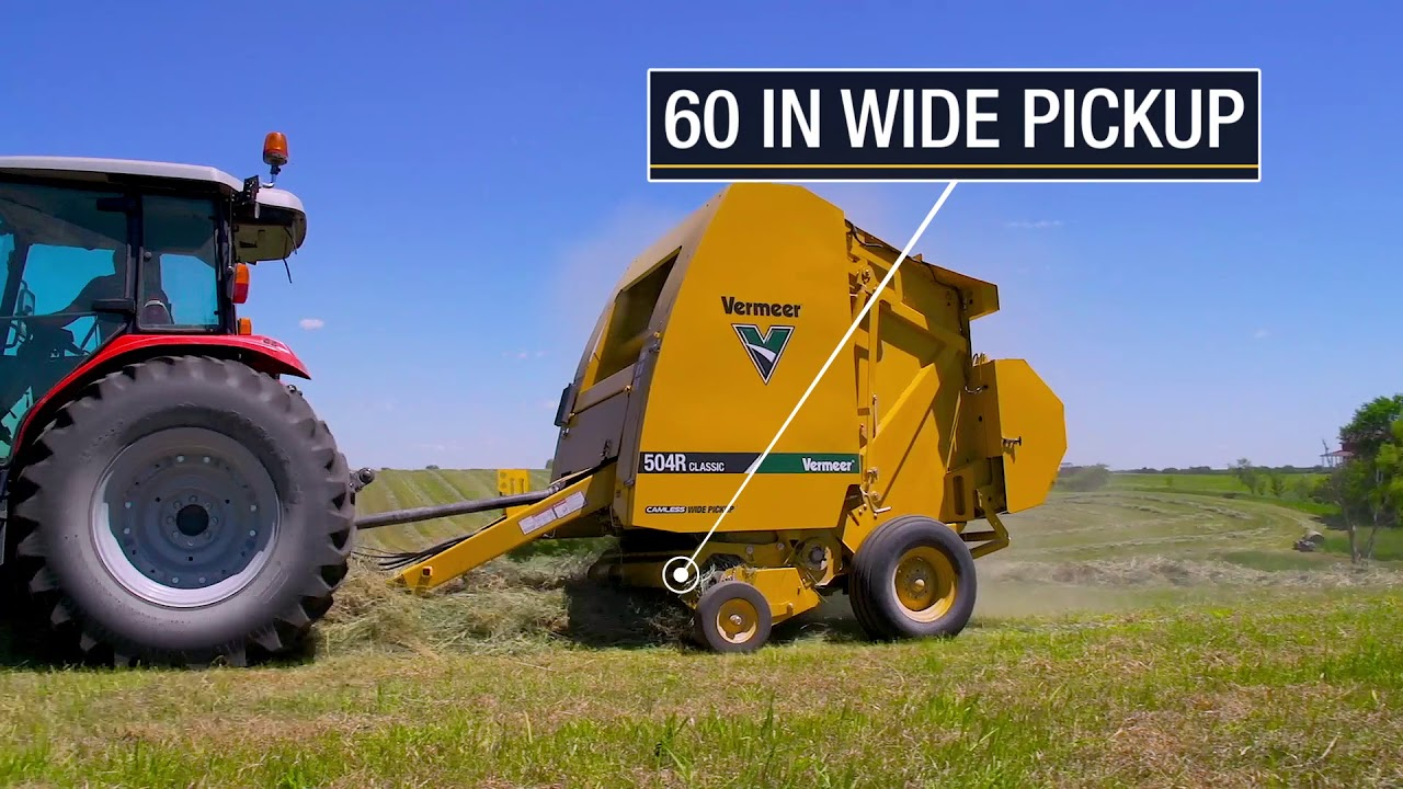 Introducing the 504R Classic Baler | Vermeer Agriculture Equipment