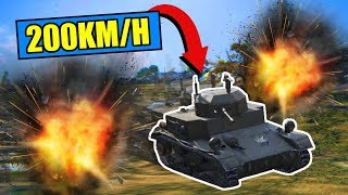 The Ferarri Tank! [World Of Tanks]