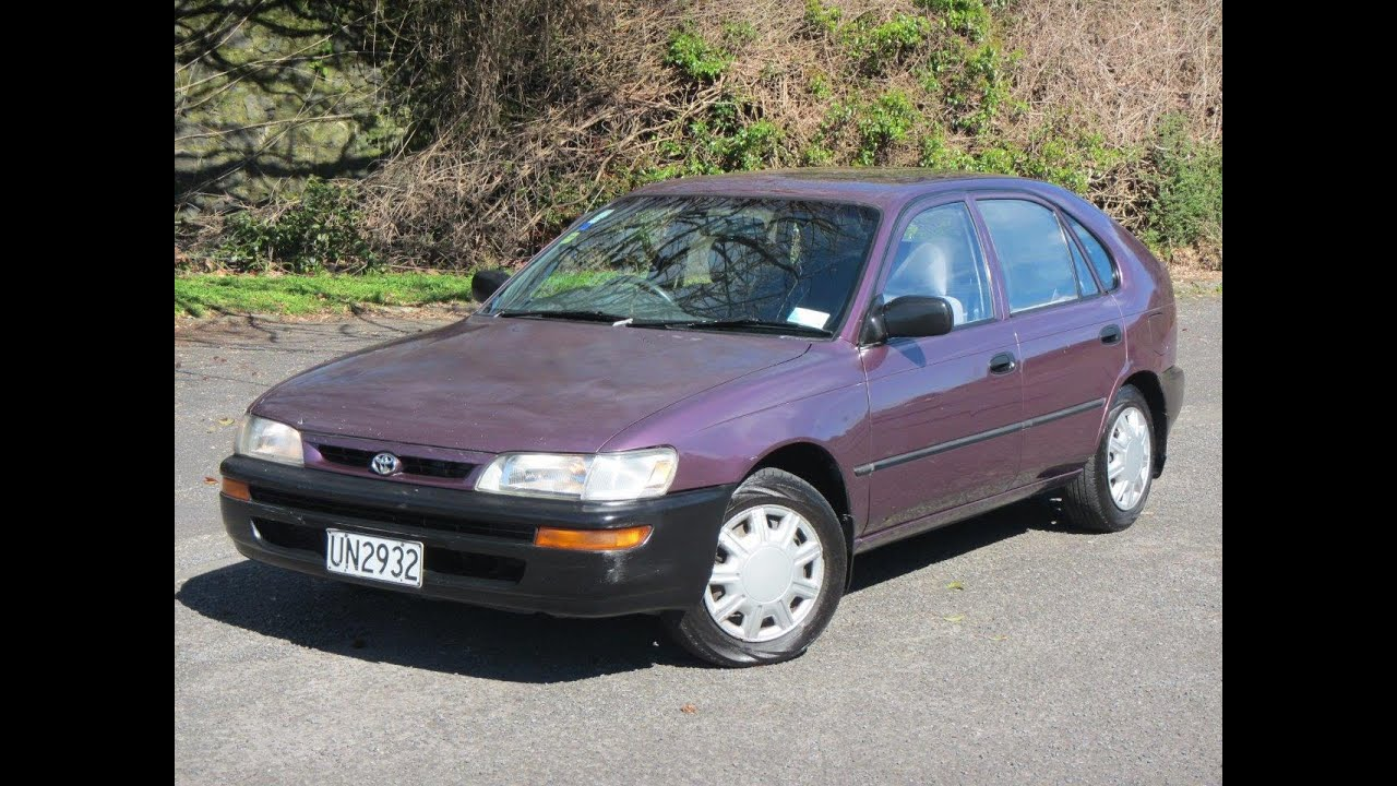 1996 Toyota Corolla NZ New Hatchback $1 RESERVE