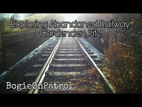 Exploring Abandoned Railway in Bowhill, Fife